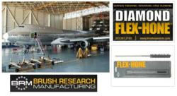 BRM Industrial Brushes for Aerospace and Aviation